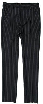 Saint Laurent Straight-Leg Pinstripe Pants