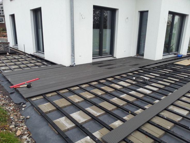 Bildergebnis für wpc terrasse pflaster übergang