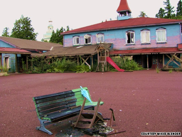 Niigata russian village theme park left to nature since 2004