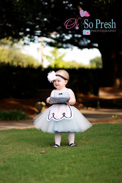 ALICE IN WONDERLAND dress baby 1st  by loverdoversclothing on Etsy, $55.00
