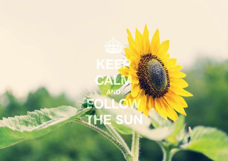 Keep Calm & Follow The Sun