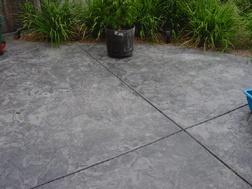 romans 5 1 5 niv stamped concrete