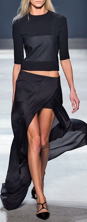 Narciso Rodriguez - Spring 2014. love the skirt only http://sulia.com/channel/fashion/f/f5a41e09-ef6e-4244-8853-417c6ef736e8/?source=pinaction=sharebtn=smallform_factor=desktoppinner=125430493