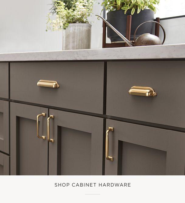 Shop Cabinet Hardware Gold Kitchen Hardware Taupe Kitchen Cabinets Modern Kitchen Cabinet Design Gold kitchen cabinet hardware