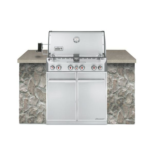 You'll love the Summit® S-460™ 4-Burner Built-In Propane Gas Grill with Smoker at Wayfair - Great Deals on all Outdoor products with Free Shipping on most stuff, even the big stuff.