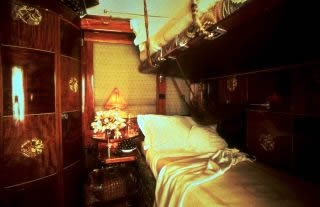 Train ride through Europe on the Orient Express.................