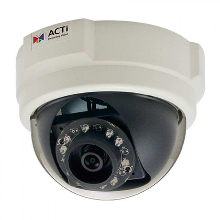 E58 2Mp Indoor Dome Camera, D/N, Ir, Basic Wdr, Slls, Fixed Lens