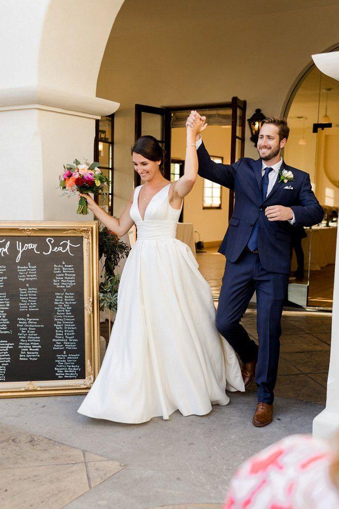 Stunning Handmade Santa Barbara Sunken Gardens Wedding Satin Wedding Dress Ballgown Ball Gowns Wedding Timeless Wedding Dress