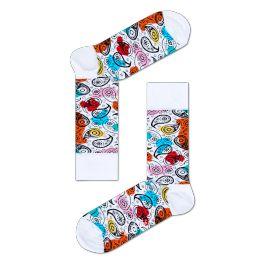 Abstract Paisley Sock