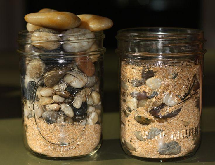 Object Lesson: Sand and Rocks