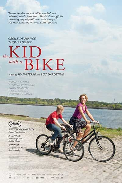 The Kid with a Bike (Dardenne Brothers, 2011) - CALGARY CINEMATHEQUE MOVIE POSTER