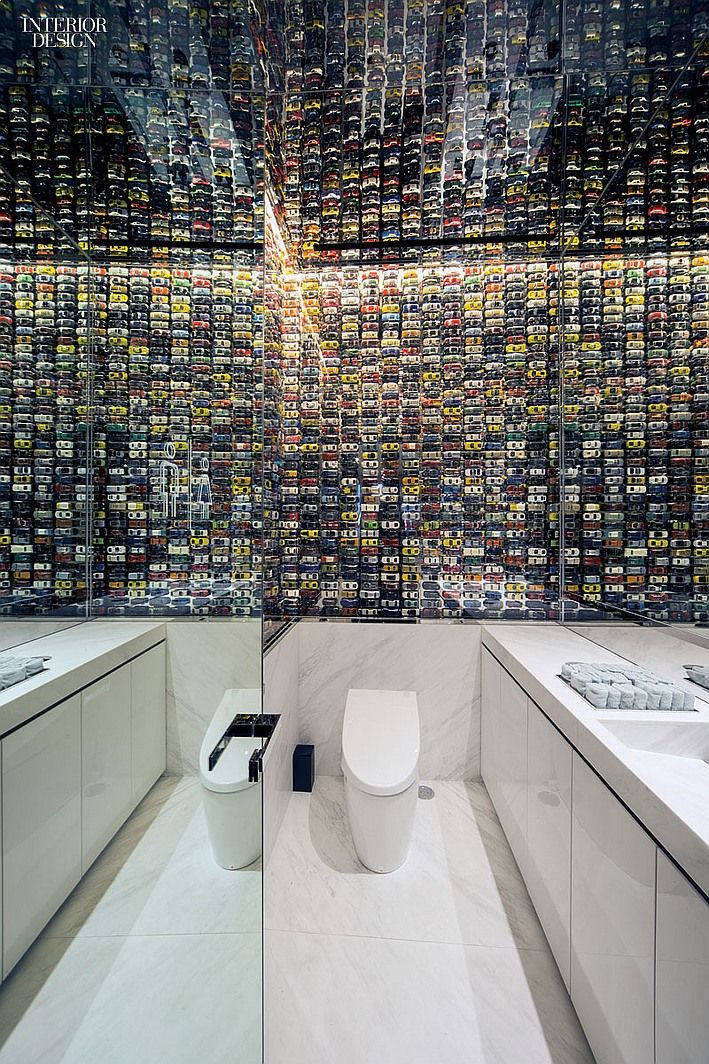 No Your Eyes Arent Deceiving You This Wall Really Is Made Using