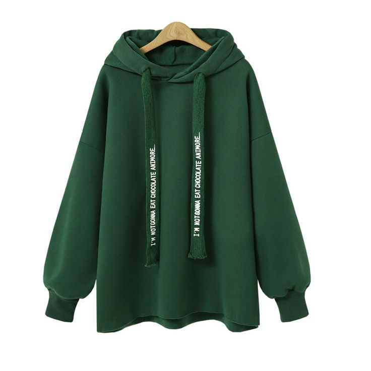 Autumn and Winter New Products Loose Hooded Long Sleeves Hoodies - FERN L