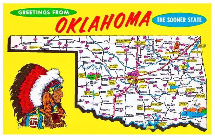 Oklahoma - Vereinigte Staaten von Amerika / United States of America / USA