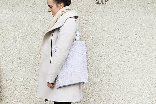 silvart / JEDINÝ KUS - Kvietky (bavlnená taška)