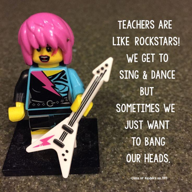 Rock on teachers, rock on! :-)