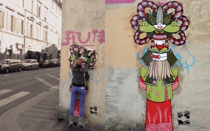 #StreetArt #UrbanArt - Koralie