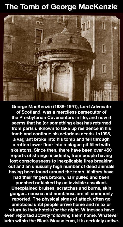 The Tomb of George MacKenzie