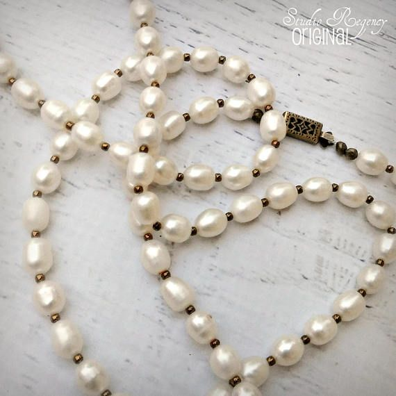 8c0c9b979cba4 The Scottish Pearls Long Pearl Necklace Freshwater Pearl ...