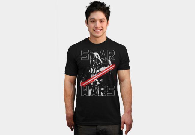A Sith Lord's Wrath T-Shirt - Darth Vader T-Shirt