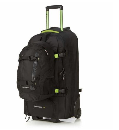 I've been using the Caribee Fast Track Wheeled Backpack for my last few trips. Here's a review and what I thought.