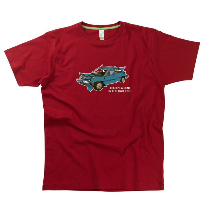 Ted's Car adults T-Shirt from Teds Tees by HairyBaby, official supplier of Father Ted T-shirts
