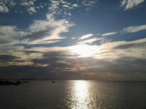 Sunset at Belitung