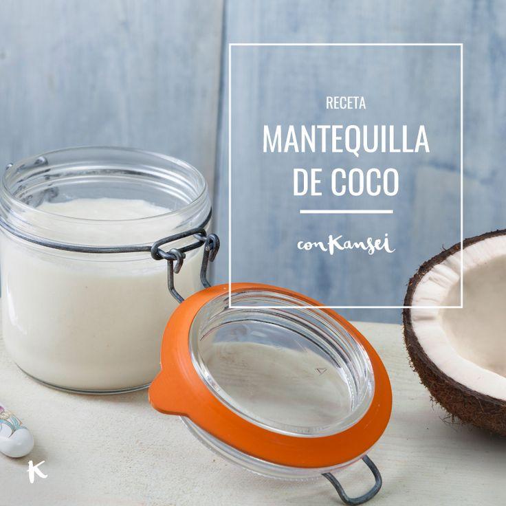 Una alternativa más saludable a otras grasas, muy nutritiva, con múltiples propiedades, y que puedes preparar fácilmente tú mismo: Mantequilla o manteca de coco casera | http://conkansei.com/es/blog/post/como-hacer-mantequilla-de-coco