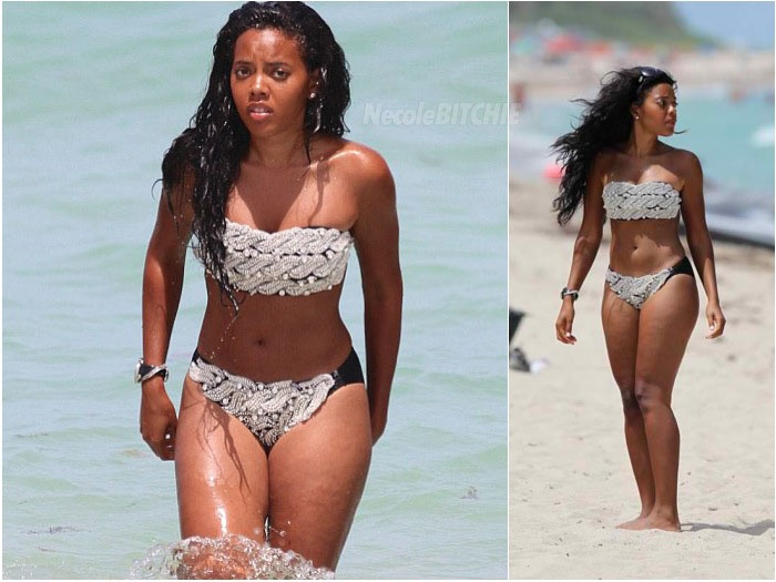 Angela Simmons Spotted In Vanessa Simmons' New Swimwear ...