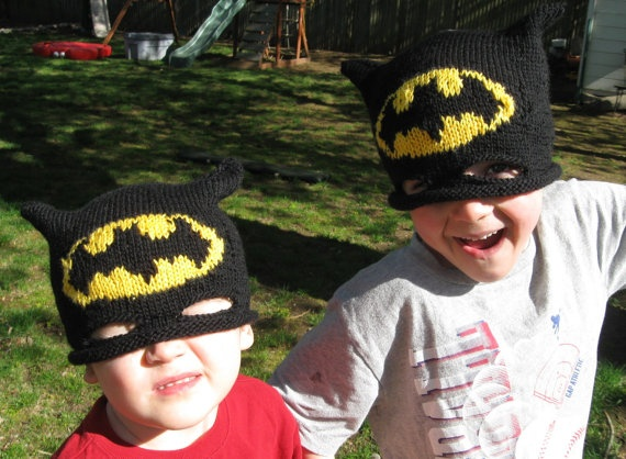 Batman Hat...@Valerie Crow can you do this?!?!?