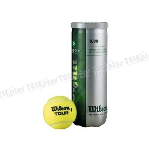 Wilson Davis Cup Tour 3lü Tenis Topu - Daha fazla dayanıklılık için yeni nCore teknoloji ile üretilmiş su geçirmez tenis topu .  Uzun nem direnci için Aquashield teknolojisi ile geliştirilmiş olan Keçe Milliken'la tarafından yüksek kaliteli yapılmış . - Price : TL21.00. Buy now at http://www.teleplus.com.tr/index.php/wilson-davis-cup-tour-3lu-tenis-topu.html