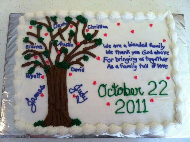 Jamie groom cake family tree