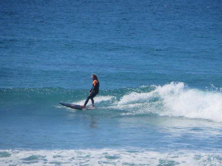 Surfing at Crescent Heads north of Port Macquarie