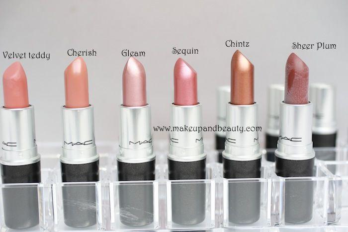 Mac Lipstick Swatches 9 All Mac Lipsticks Photos And