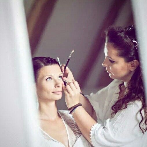 Bridal makeup in one of the most important day of your life #makeupartist #makeup #weddingmakeup #bride #naturalmakeup