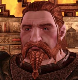 """""""I'll answer what I can, but my policy is not to sell things that don't belong to me."""" - Gorim Saelac, Dragon Age: Origins. Gorim Saelac is a knight and member of the warrior House Saelac. He is also a temporary companion in the Dwarf Noble Origin. During the events of the Fifth Blight he moves to the surface and becomes a merchant in the Denerim Market District."""
