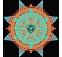 Beautiful Desert Mandala  Photographic Print
