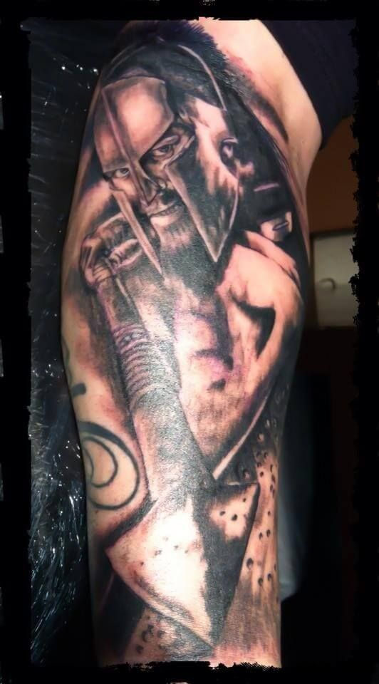 32 best 300 spartan tattoos images on pinterest design for Italian warrior tattoos