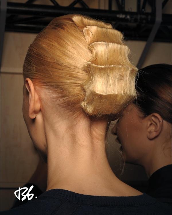 Spring/Summer Fashion Week. Hair by Bb. Stylist Tomohiro Ohashi. #fashionweek #fashion #hair #bumbleandbumble #style