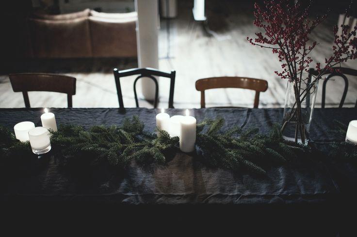 Beautiful Sunshine table cloth in the colour Kohl #Sunshine #linen #tablecloth #kohl