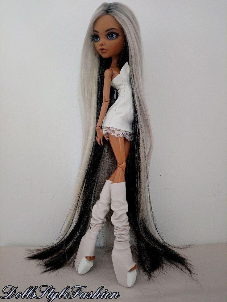 """OOAK Repaint 17"""" Monster High doll, Monster high 17"""" doll, 17"""" doll, Monster"""