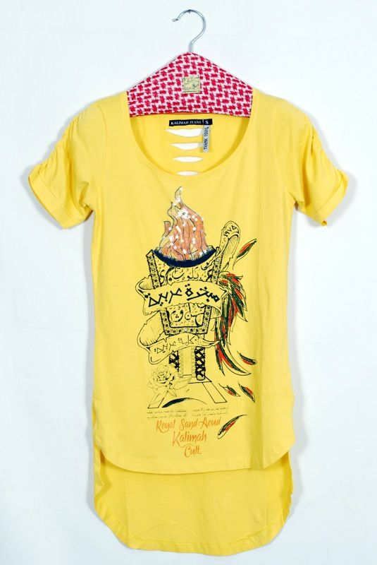 Yellow T shirts for girls