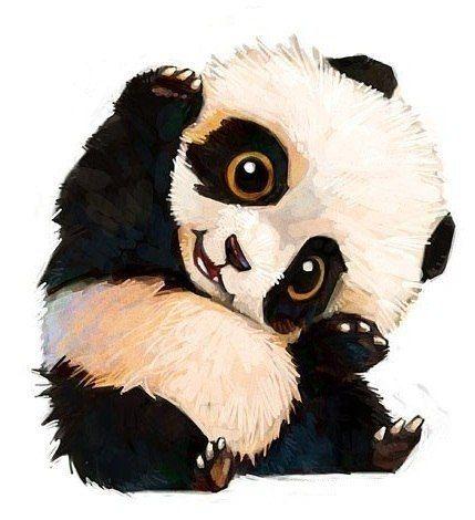 тату панды милые эскиз - Поиск в Google