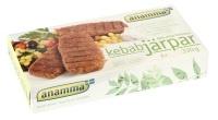 Vegetar-kebab. Finnes i velassorterte dagligvarebutikker/helsekost.