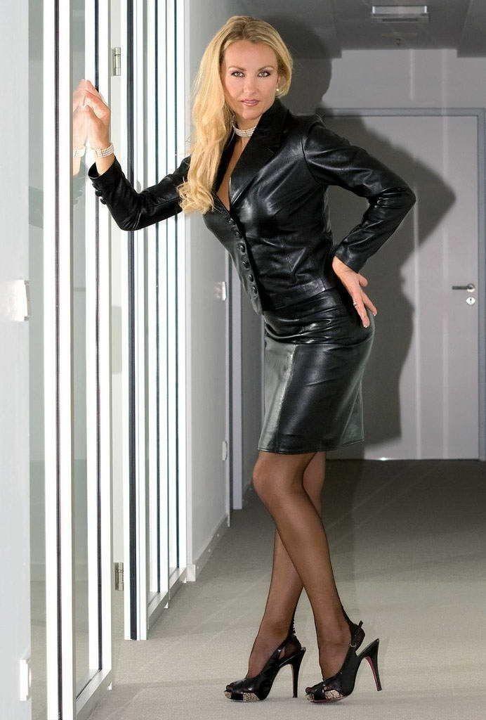 Words... leather skirt gallery movies milf