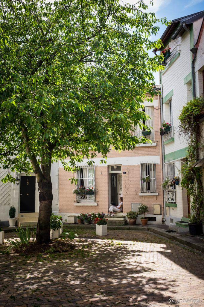Paris 13e cité florale rues insolites secrètes cité figuier blog voyage LoveLiveTravel