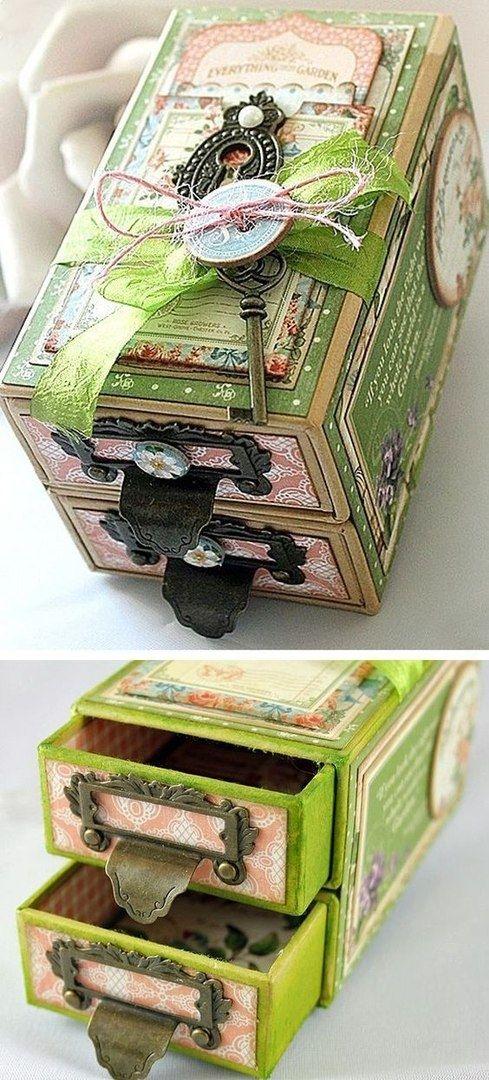 Из спичечных коробков