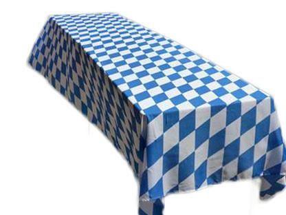 Oktoberfest Party Tablecloth Bavarian Pattern