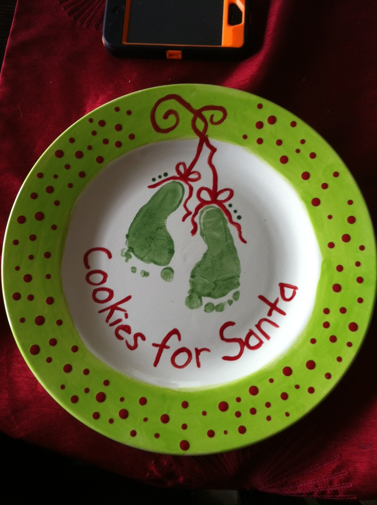 Ceramic Christmas plate & 212 best Christmas Ideas images on Pinterest | Christmas ideas ...