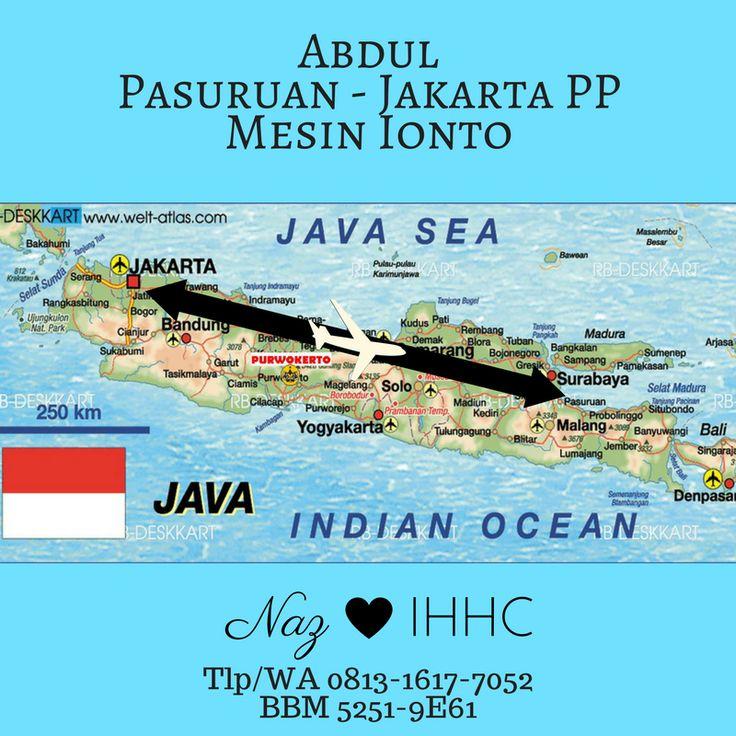 Abdul Pasuruan Rela Terbang Surabaya-Jakarta-Surabaya untuk Membeli Mesin IontoIHHC